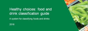 Healthy choices guidelines for food and hospitality