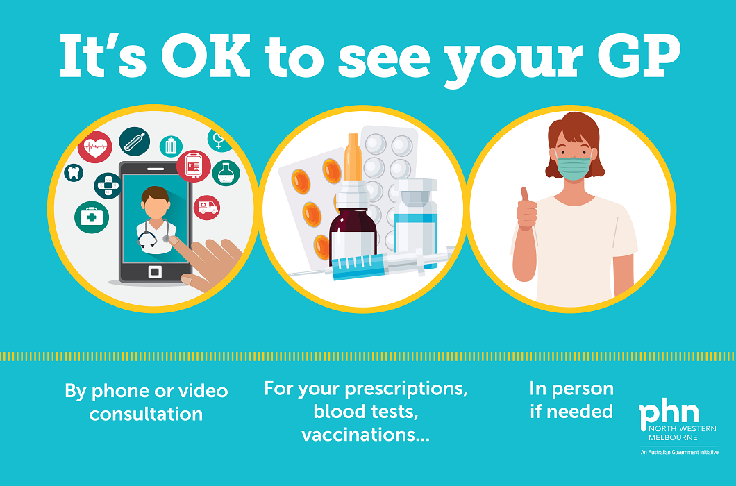 It's OK to see your GP