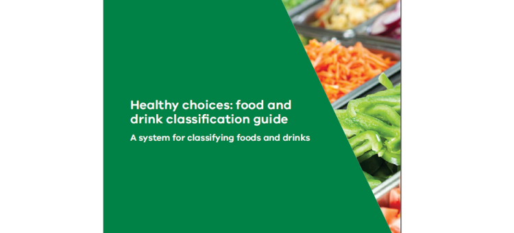 Healthy eating guidelines – out now