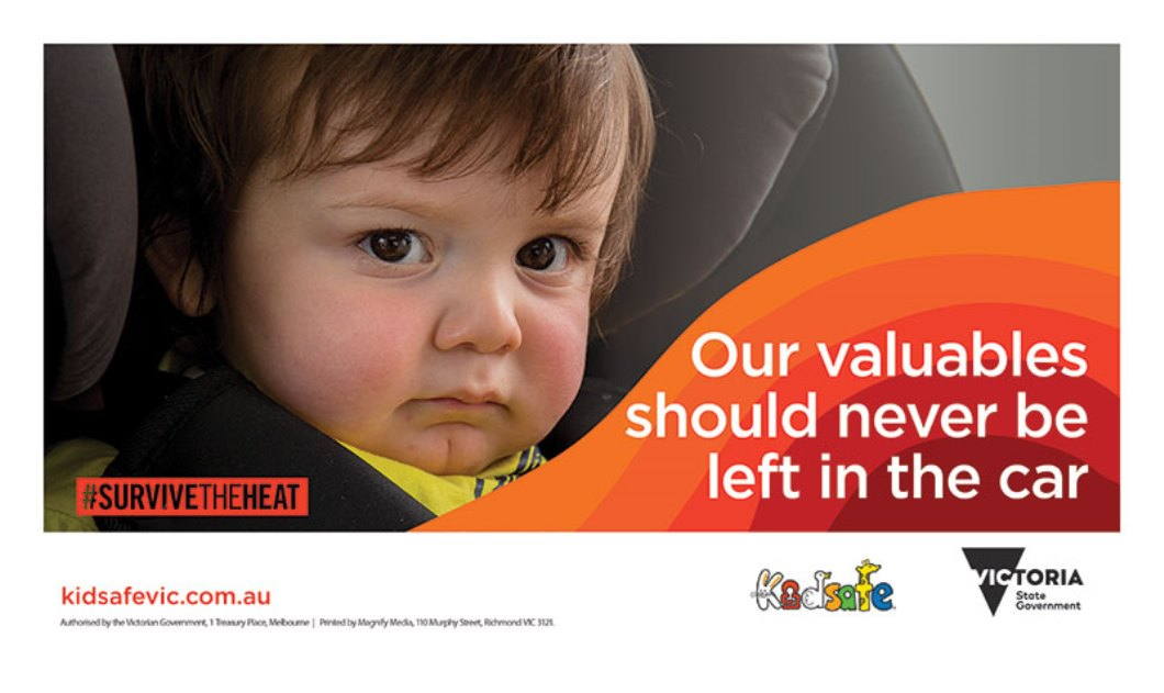'Do Not Leave Children In Cars' campaign