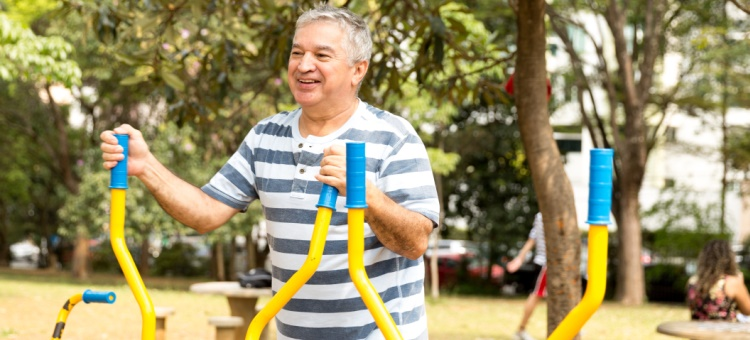 Wyndham's first seniors' exercise park